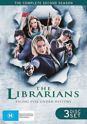 The Librarians : Season 2 (DVD, 2016, 3-Disc Set) New and Sealed