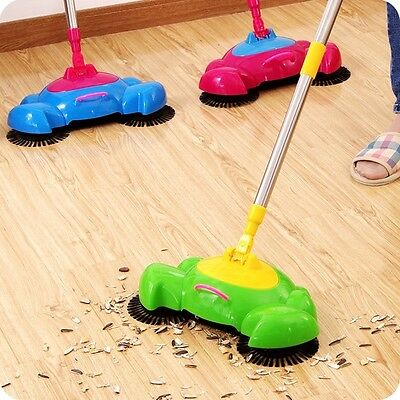 Multifunction Sets Broom Household Automatic Cleaning Tool Hand Push Sweeper