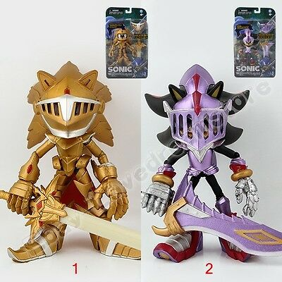 Black Knight Sonic The Hedgehog Sir Lancelot With Shadow's Sword 14cm PVC Figure