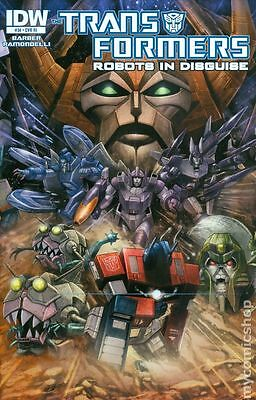 Transformers (2012 IDW) Robots In Disguise #34RI VF
