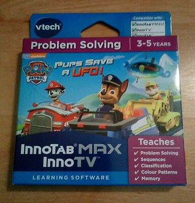 Vtech Innotab MAX/ InnoTV: Paw Patrol - Pups save a UFO game - New & Sealed box