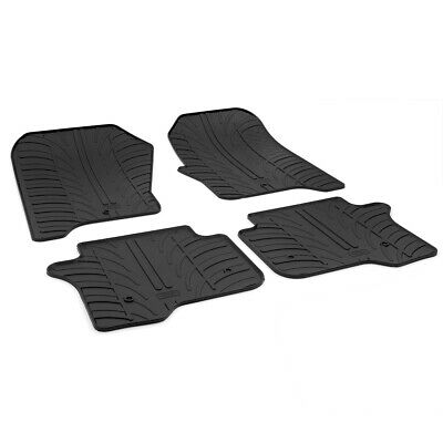 Land Rover Discovery 4 2009 - 2016 Tailored Rubber Moulded Car Floor Mats Set