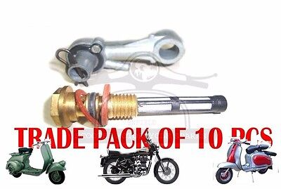 NEW LAMBRETTA FUEL TAP 10 UNITS LD 125 SINCE 1956 LD 150 SCOOTERS @AEs