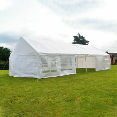 Outdoor 6 x 12 Meters Heavy Duty Wedding Party Tent Marquee Marquees White wi...