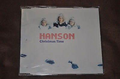 RARE Hanson Christmas Time UK PROMO CD!