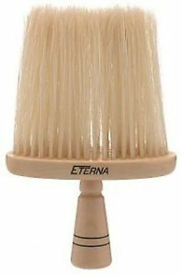 SIBEL Eterna Wooden Barber Hairdresser Neck Brush - Natural Hair Bristles