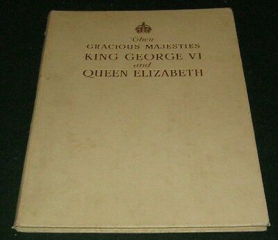 THE CORONATION OF KING GEORGE VI & QUEEN ELIZABETH May 12th 1937 Illustrated HB