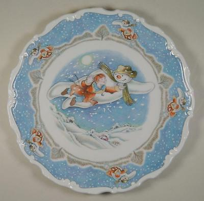 Royal Doulton Snowman Gift Collection Walking In The Air First in Series PLATE