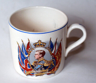 Edward VIII coronation mug (the king who was not actually crowned) good cond'n