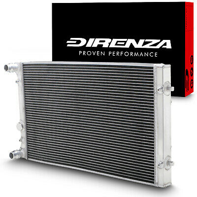 Direnza Aluminium Radiator Rad For Vw Golf Mk4 Bora 1.8T 1.9Tdi Gti Fsi 4Motion