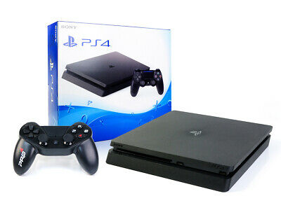 SONY PS4 SLIM Konsole 500GB +NEUEN Gator Claw Wired Controller Spielkonsole