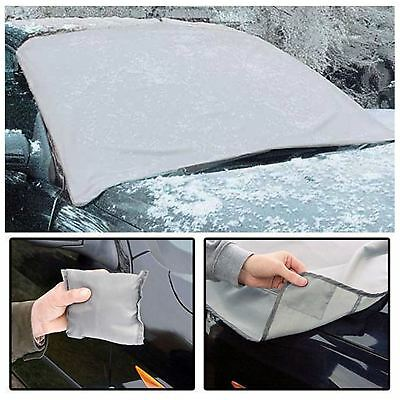 2 x Magnetic Car Windscreen Cover Frost Ice Shield Snow Dust Protector Sun Shade