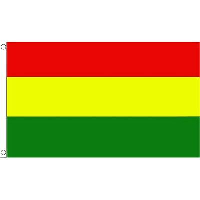 3 x 2' Red Yellow & Green Irish County Flag - , & 3ft 2ft Metal Eyelets