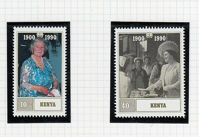 (94873) Kenya MNH Queen Mother 90th Birthday 1990 unmounted