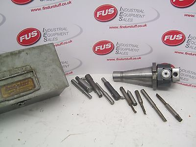 Bridgeport No1 Plain Boring Head On 40 Int Taper, With Some Tools - Used