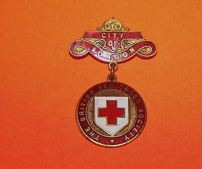 City Of London British Red Cross Society Medal