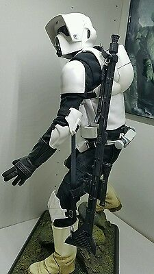 Custom Rifle Star Wars Sideshow Scout Trooper Statues Premium Format exclusive