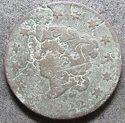 1822 Coronet Head Large Cent Coin