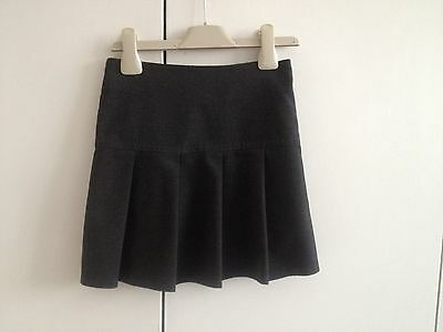 Girls BHS grey school skirt size 5 years great used condition