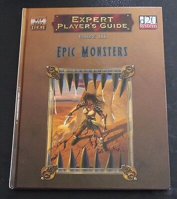 D20 Expert Players Guide Epic Monsters Vol 3 Mongoose Publishing Hardcover