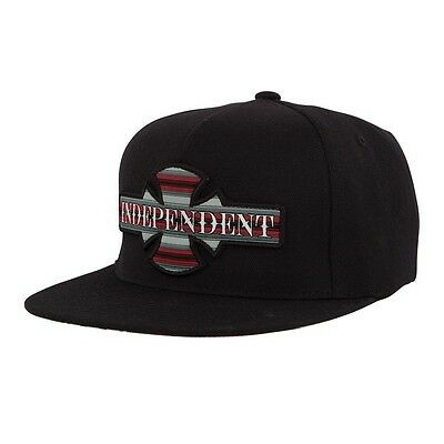 Independent Trucks BOARDER 110 Flexfit Snapback Skateboard Hat BLACK