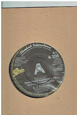 B.j.thomas Whatever Happened To Old Fashioned Love 45 Promo 1983