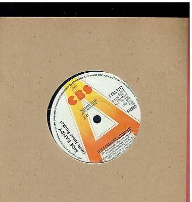 Moe Bandy It's A Cheatin Situation 45 Promo 1979