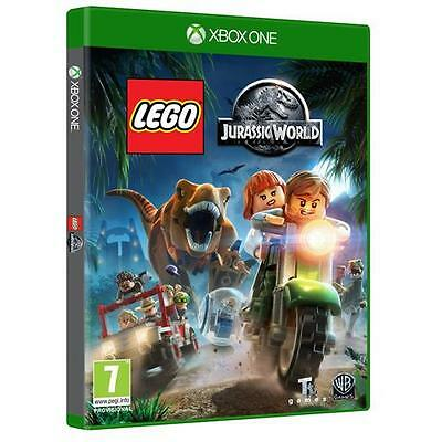 Lego Jurassic World XBox One 7+ Kids Game NEW & SEALED 5051892191883 1