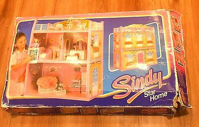 Vintage 1980's Hasbro Sindy Dolls ~ STAR HOME Multi-Level House ~ Boxed