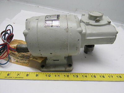 Bodine NCI-34RH 1/15HP 115V 1550RPM IN 25.8RPM Out Electric Gear Motor
