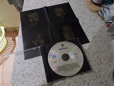Metallica the black album (best of) Greatest Hits Enter The Sandman CD classic
