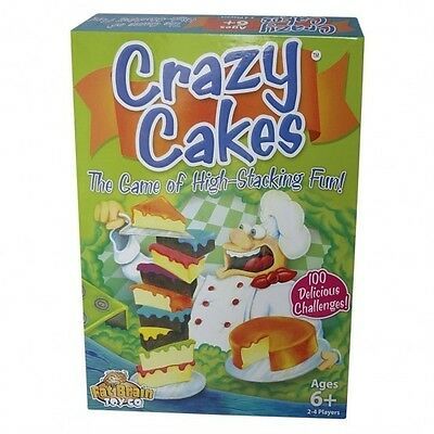 CRAZY CAKES, Knobel- u. Stapelspiel von Fat Brain (50024B=2.W.) brainteaser game