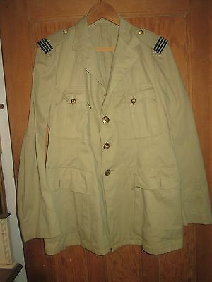 Airforce Military Jacket With Brass Eagle Albatross Crown Buttons,gaunt London