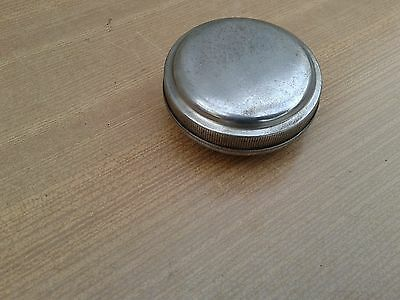 Vintage Chrome, Fuel Cap, For Old Classic Car,or Motorcycle,