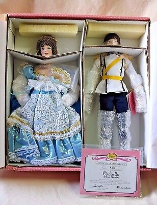 Treasury Collection Premiere Edition Cinderella & Prince Charming Porcelain Doll