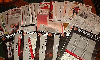 Walsall v Yeovil Town 2016 2016/17 EFL Cup + colour teamsheet + press ticket