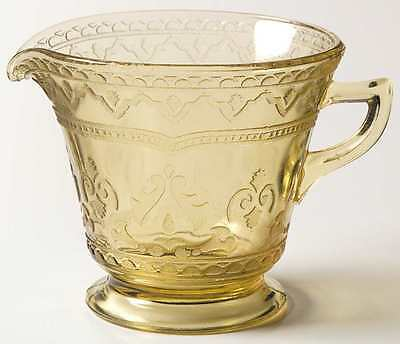 Federal Glass Company PATRICIAN AMBER Creamer 124542