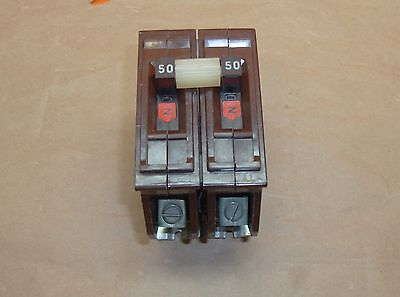Wadsworth A250 Circuit Breaker 50 Amp 2 Pole 120/240 Volt AC Type A