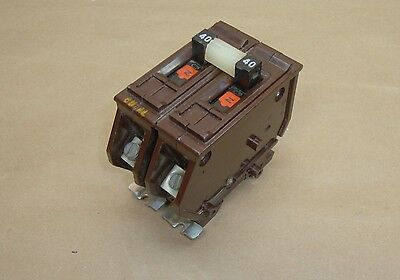 Wadsworth A240 Circuit Breaker 40 Amp 2 Pole 120/240 Volt AC Type A