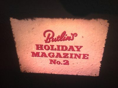 "VINTAGE 16mm SOUND FILM ""BUTLINS HOLIDAY MAGAZINE 2"" LOTS ON THIS RARE ONE No 16"