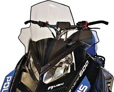 Powermadd 11830 Snowmobile Windshield 19in. Clear/Black Fade