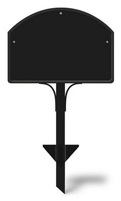 """Yard DeSigns STAKE Holder for Magnetic Yard Art Address Markers Plague 14"""" x 25"""""""