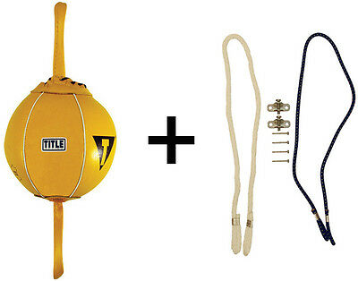 "Title Boxing 6"" Double End Bag Package"