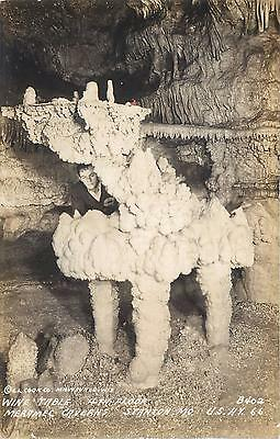 "RPPC  STANTON, MO Missouri  "" WINE TABLE""  Merrame Caverns Route 66 Roadside"