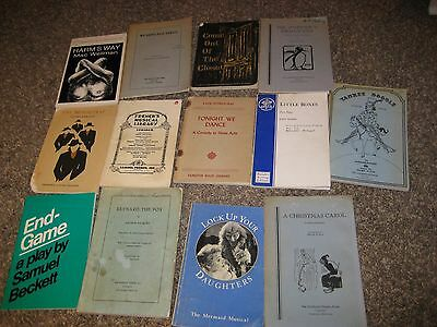 Lot of 13 plays  DRAMAS, COMEDIES, CHILDRENS, FRENCH ETC..