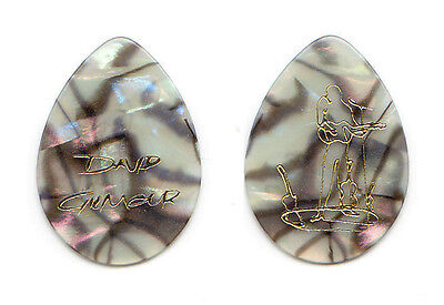 Pink Floyd David Gilmour Signature Gdansk Mother Of Pearl Guitar Pick 2008 Tour