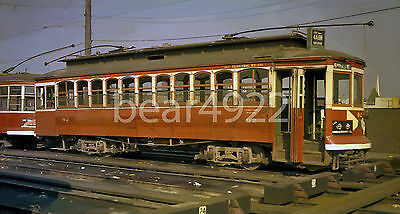 11 Kodacolor Trolley Negatives: Vancouver Bcer Various Cars - See Green Box