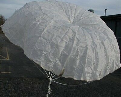 """One Military Surplus 36"""" Signal Flare Parachute for Rockets"""