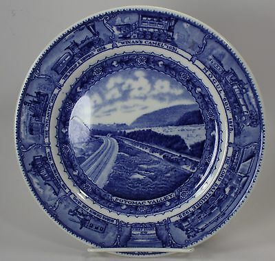 "Baltimore & Ohio Railroad ""centenary"" Pattern Lunch Plate"