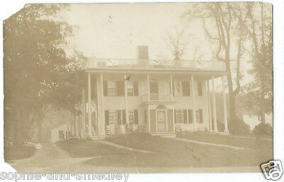 1910 RPPC Real Photo Postcard - Alfred, Maine - Lovely House!
